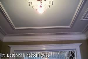 Painted Ceiling and Molding